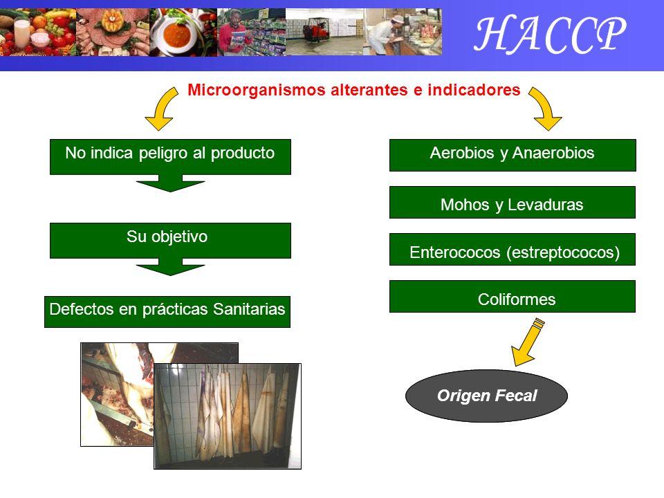Microorganismos alterantes e indicadores