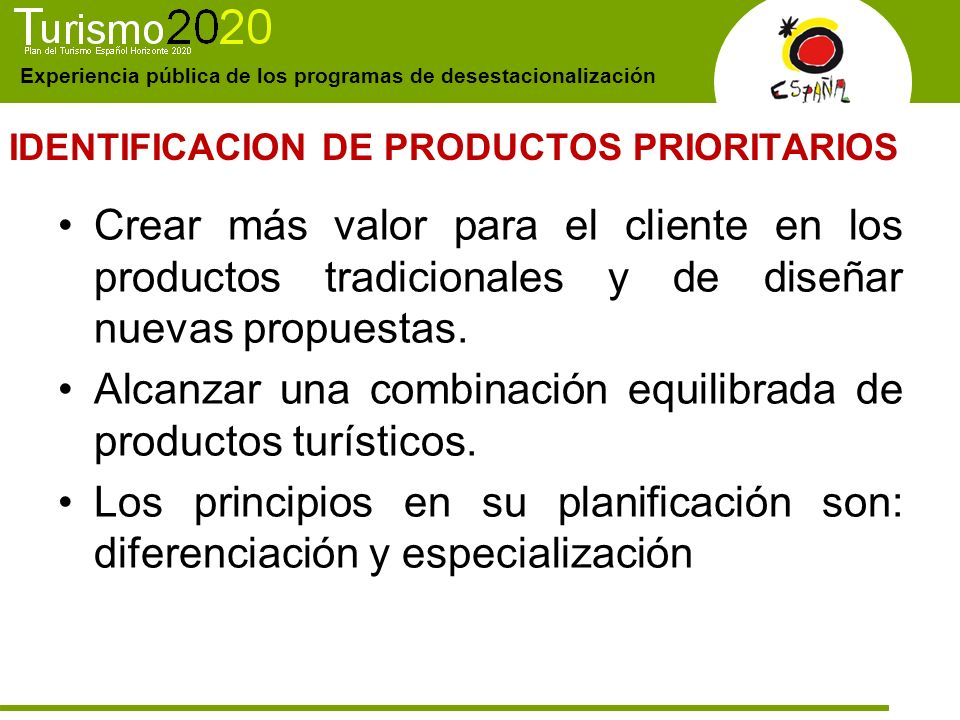 IDENTIFICACION DE PRODUCTOS PRIORITARIOS