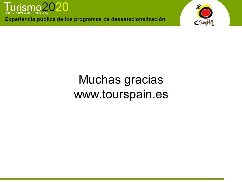 Muchas gracias www.tourspain.es