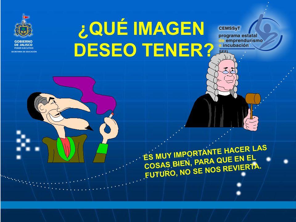 ¿QUÉ IMAGEN DESEO TENER