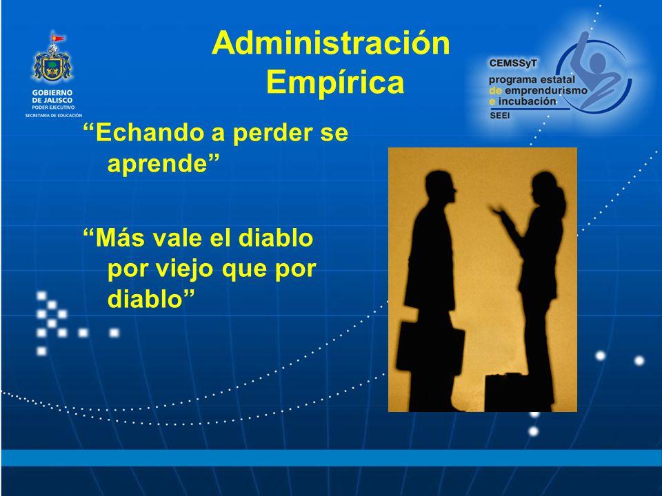 Administración Empírica