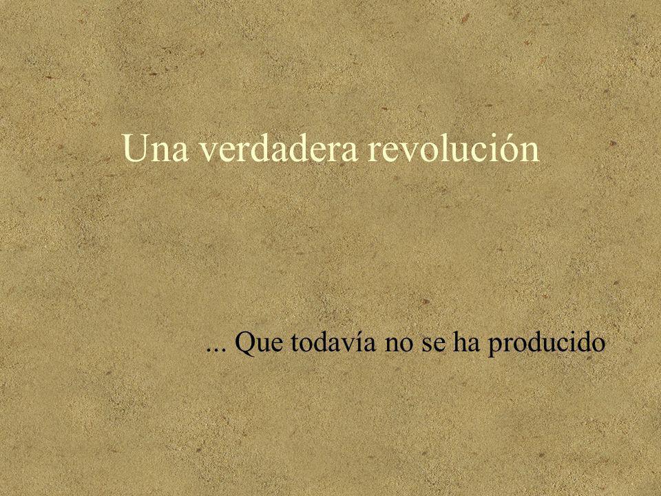 Una verdadera revolución