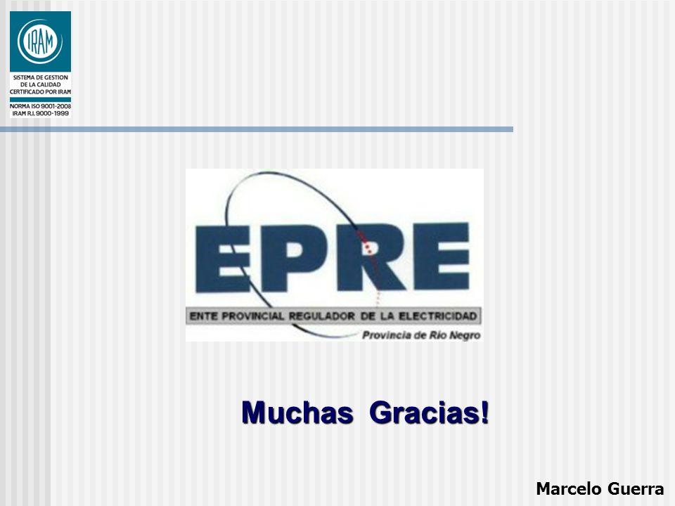 Muchas Gracias! Marcelo Guerra