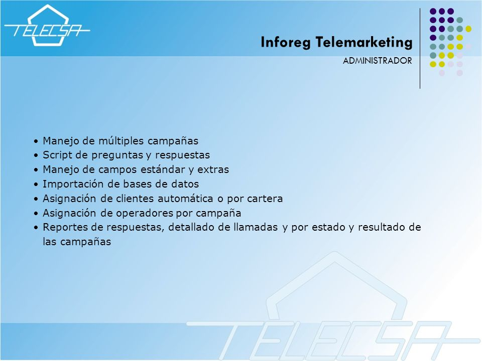 Inforeg Telemarketing