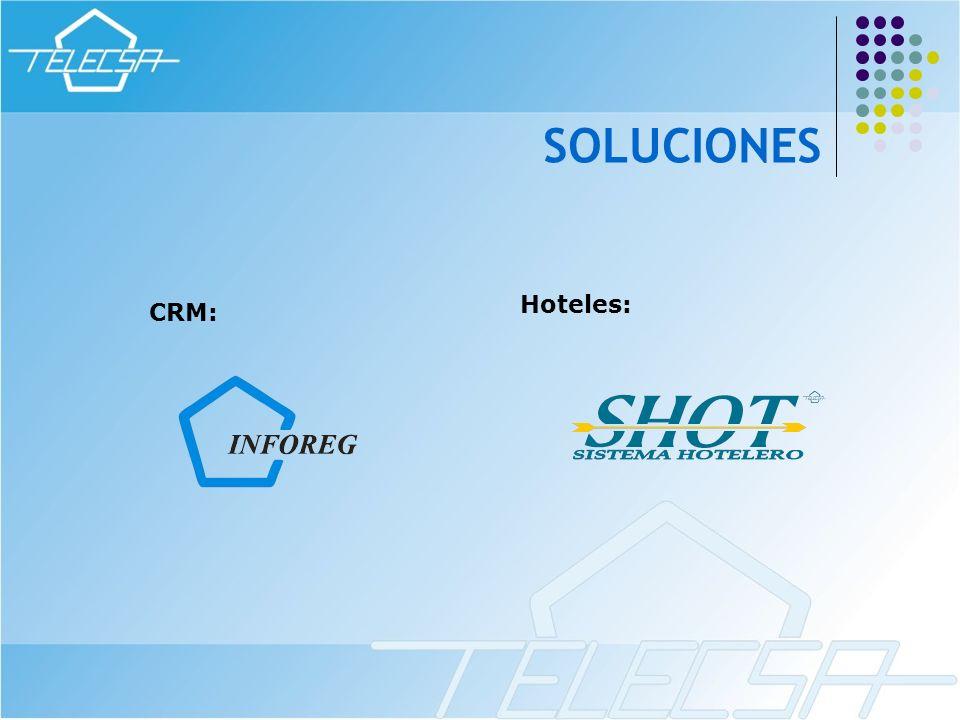SOLUCIONES Hoteles: CRM: