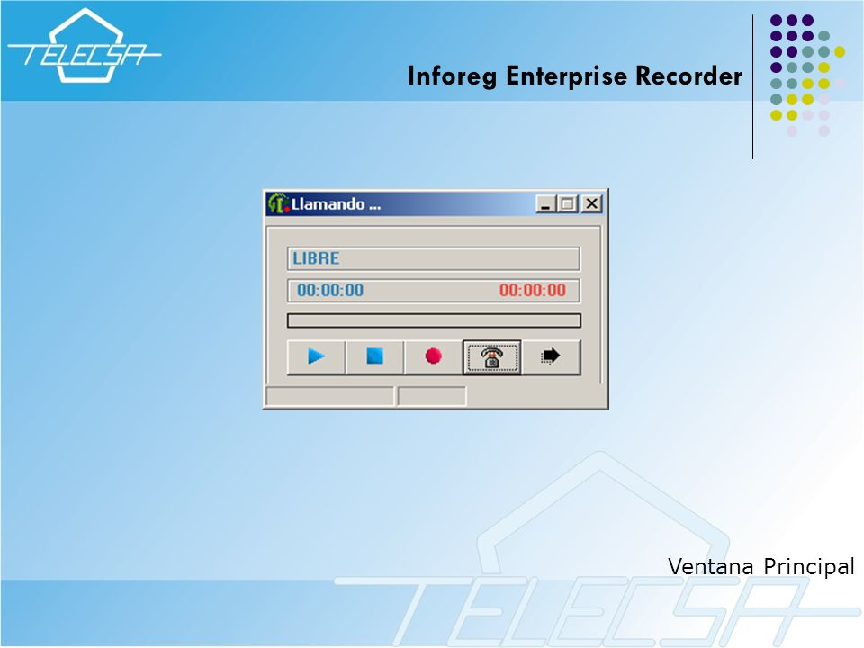 Inforeg Enterprise Recorder