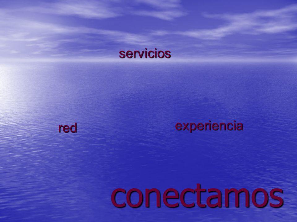 servicios experiencia red conectamos