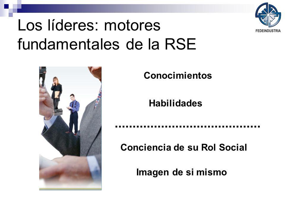 Los líderes: motores fundamentales de la RSE