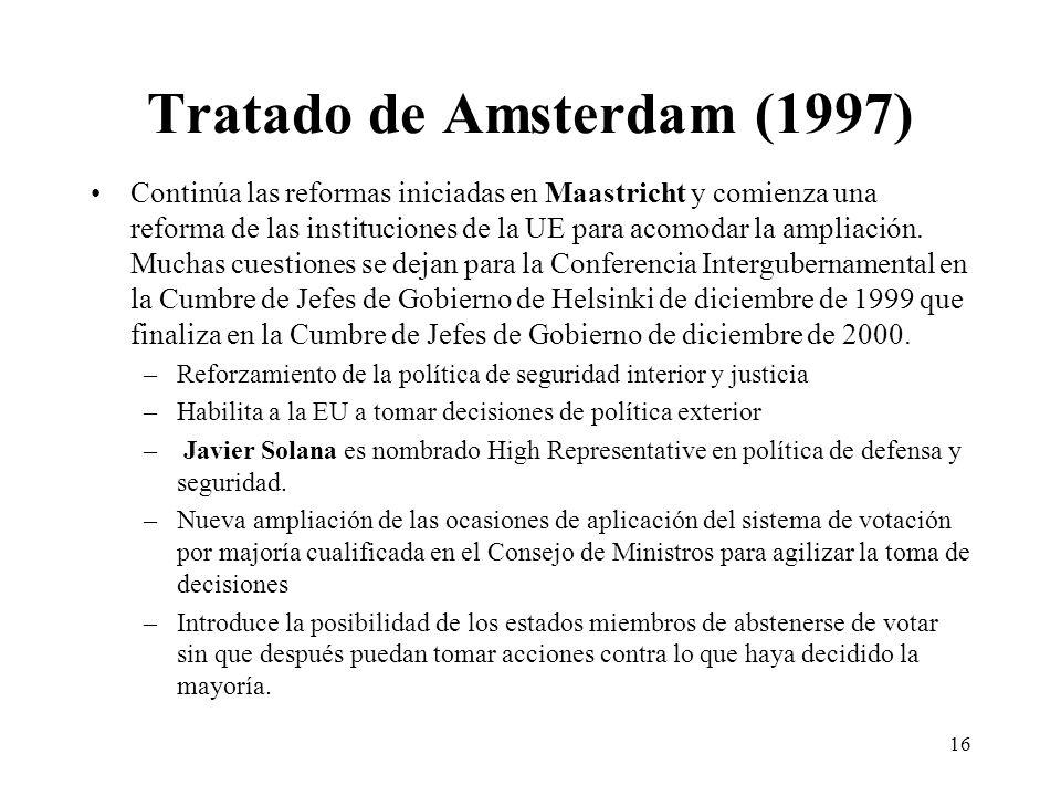 Tratado de Amsterdam (1997)