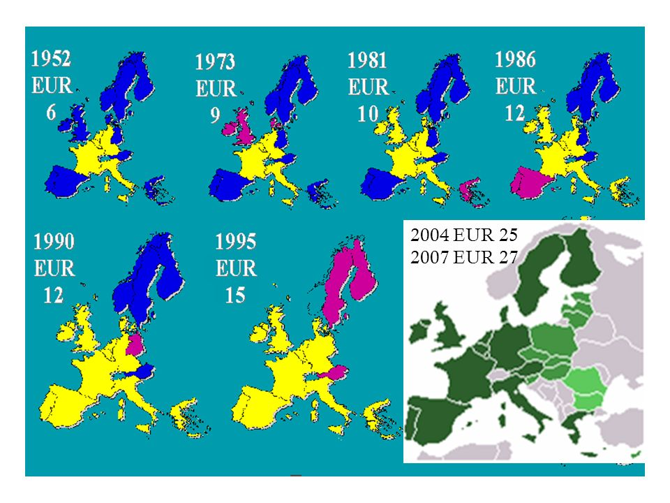 2004 EUR 25 2007 EUR 27