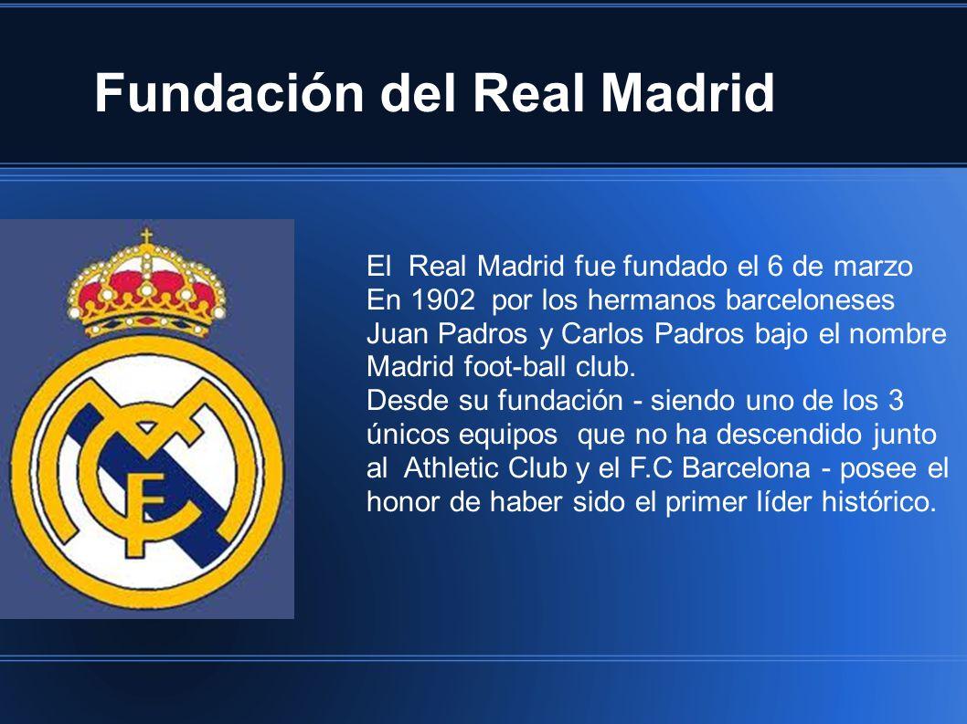Fundación del Real Madrid