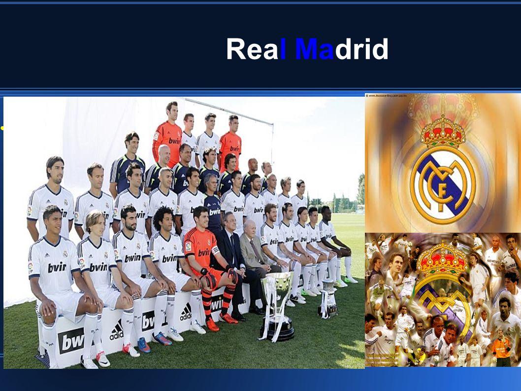 Real Madrid Exponga el objetivo previsto