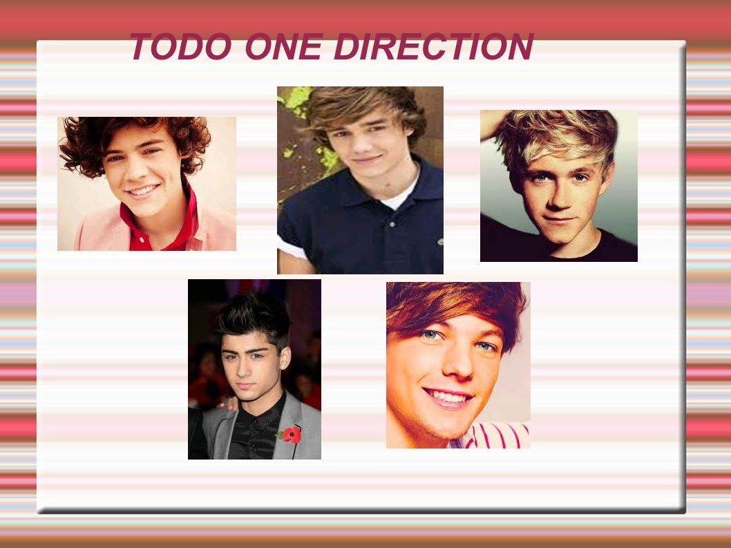 TODO ONE DIRECTION