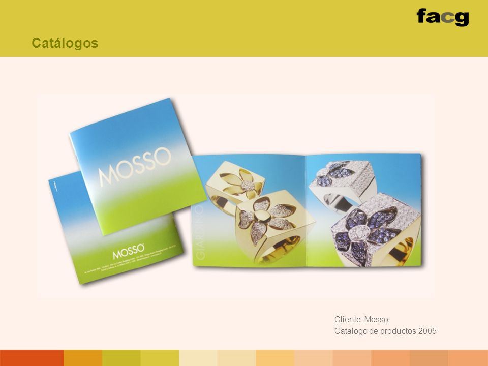 Catálogos Cliente: Mosso Catalogo de productos 2005
