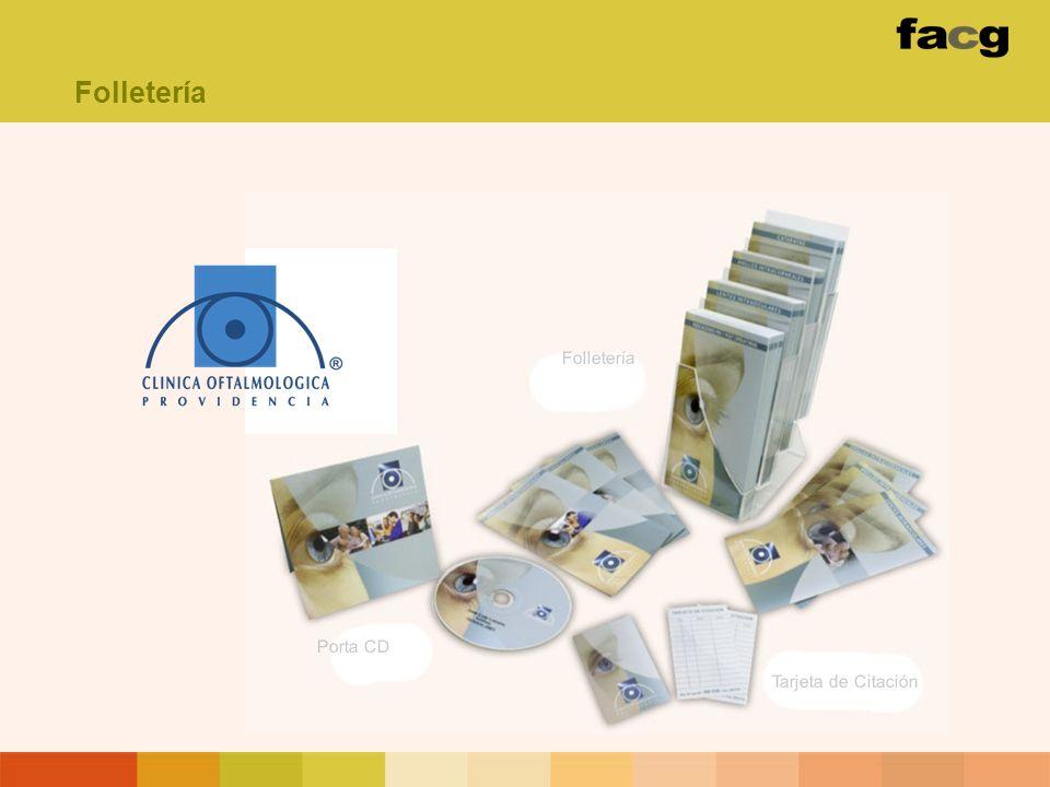 Folletería Folletería Porta CD Tarjeta de Citación