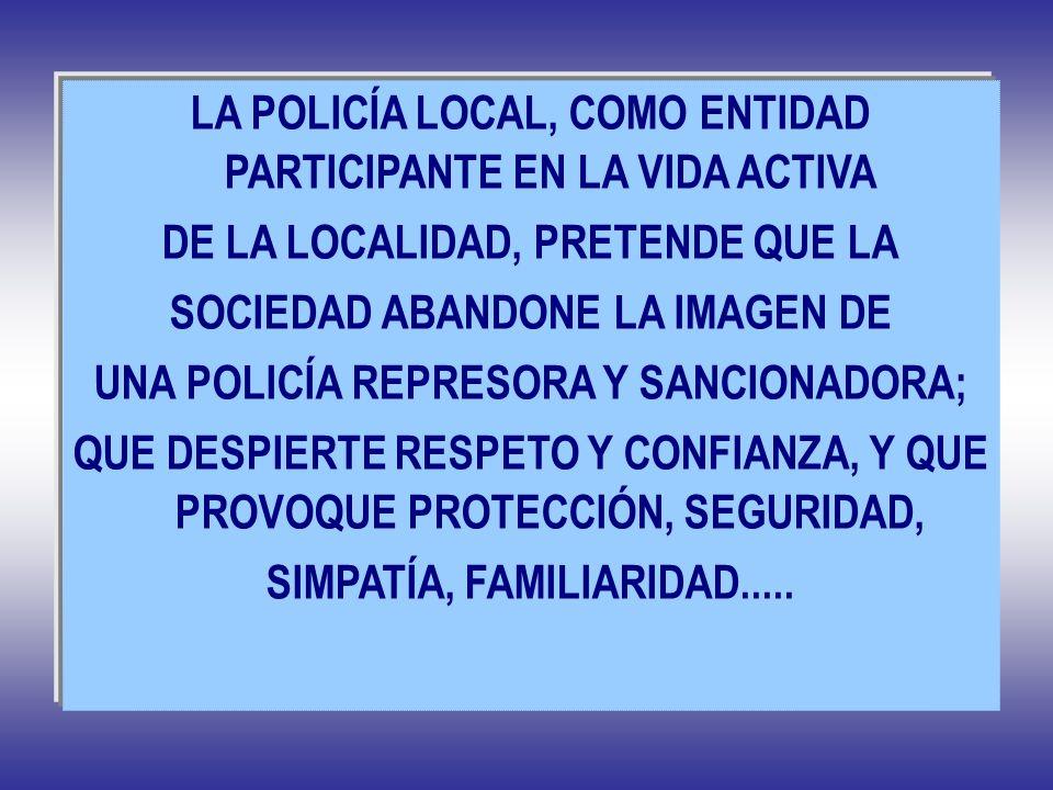 LA POLICÍA LOCAL, COMO ENTIDAD PARTICIPANTE EN LA VIDA ACTIVA
