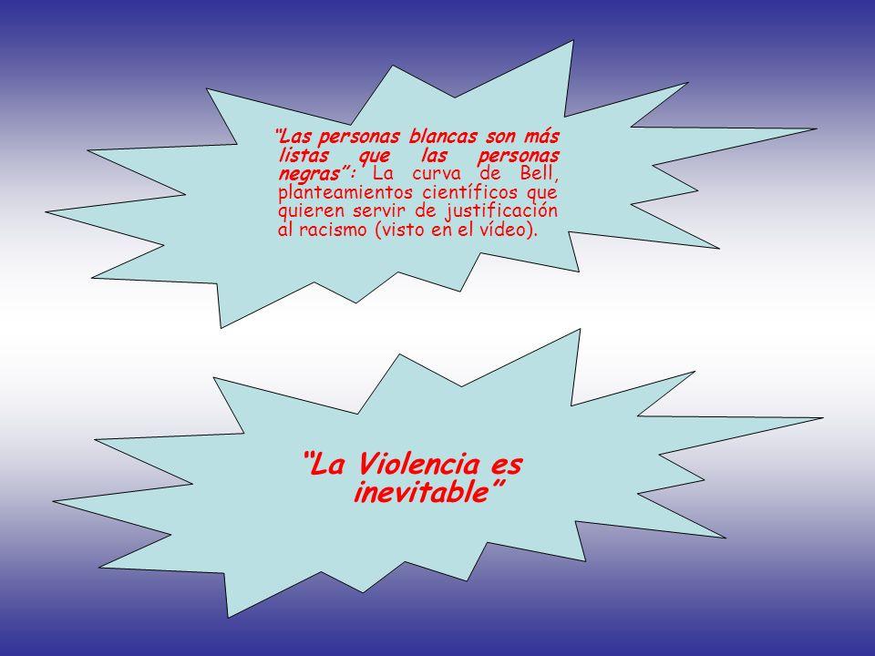 La Violencia es inevitable