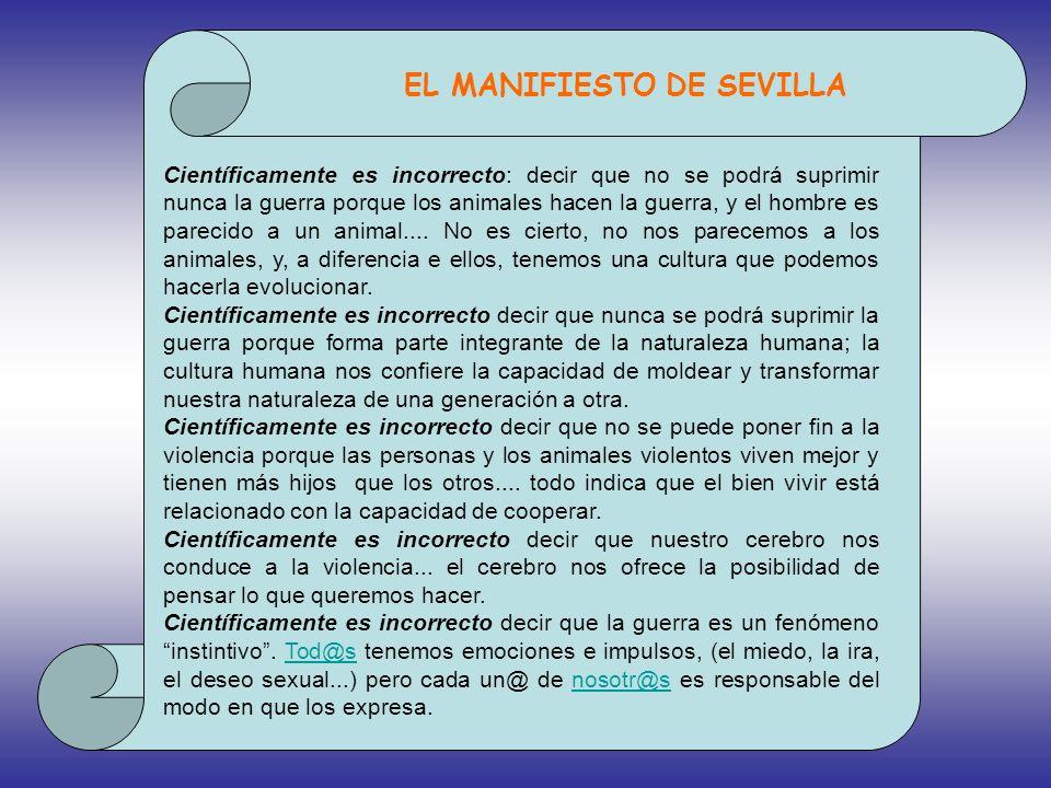 EL MANIFIESTO DE SEVILLA