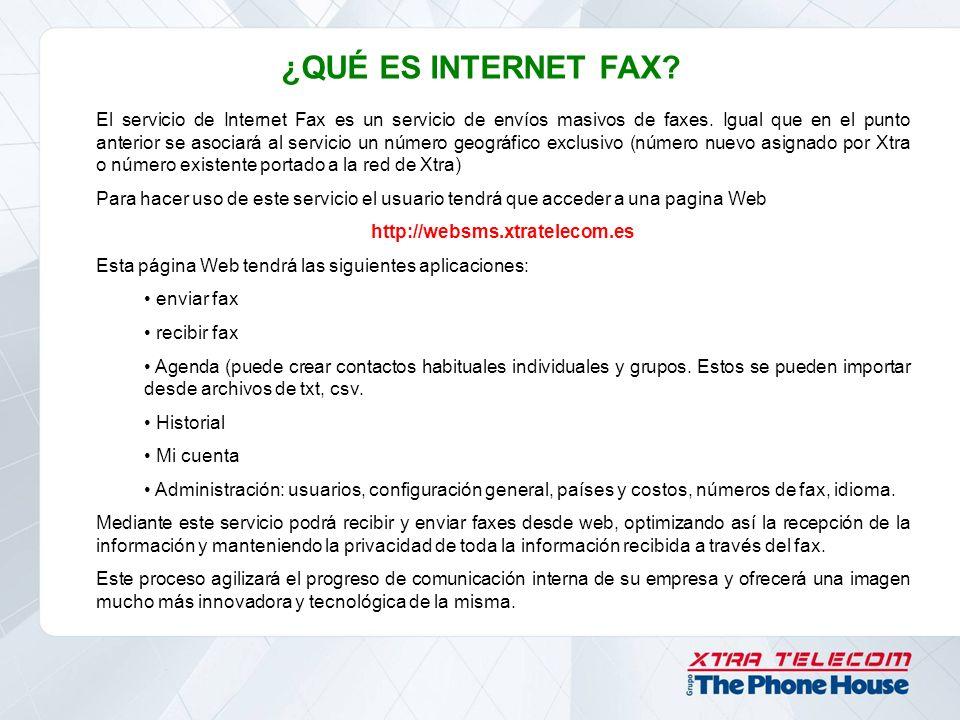 ¿QUÉ ES INTERNET FAX