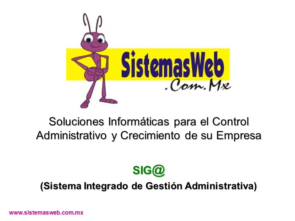 (Sistema Integrado de Gestión Administrativa)