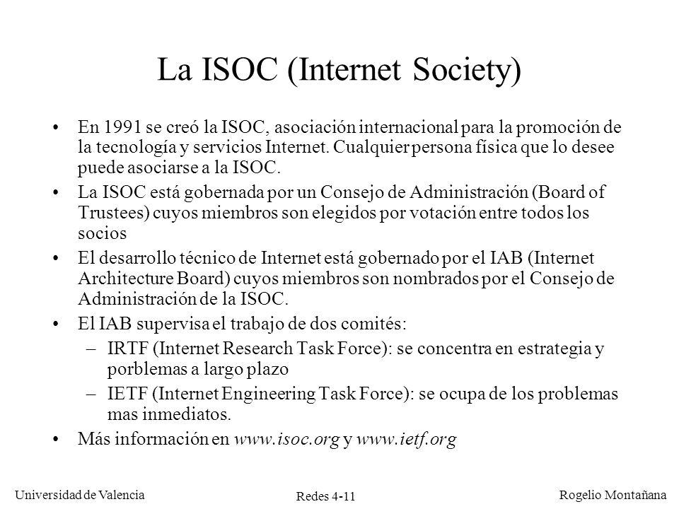 La ISOC (Internet Society)