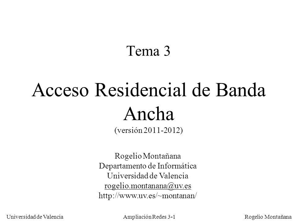 Tema 3 Acceso Residencial de Banda Ancha (versión 2011-2012)