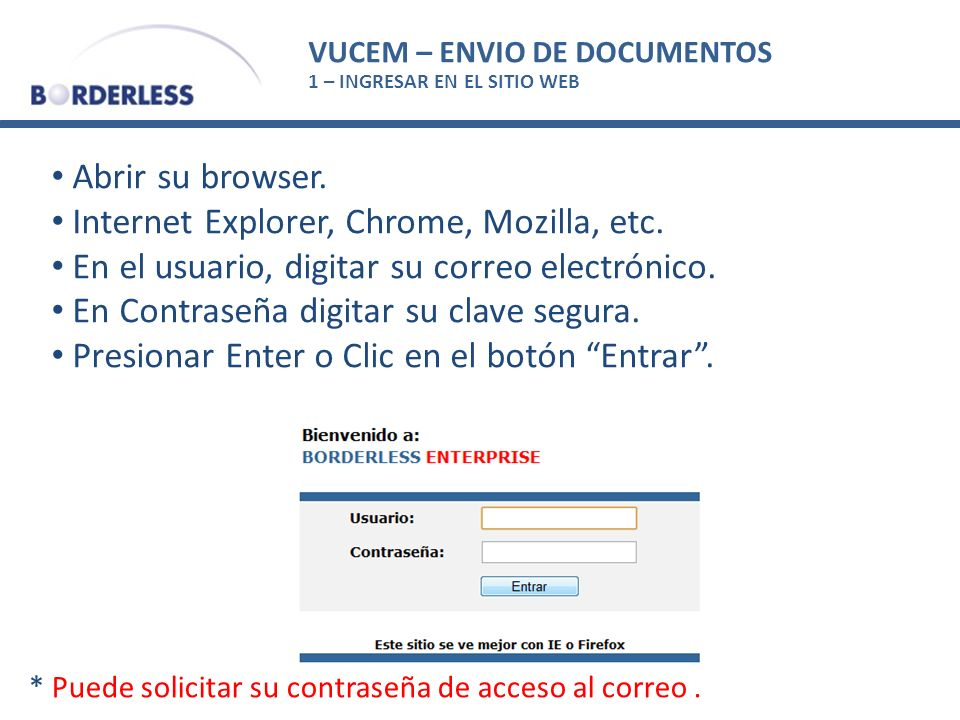 Internet Explorer, Chrome, Mozilla, etc.