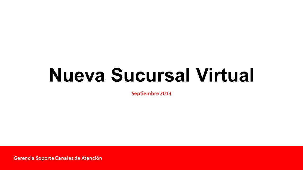 Nueva Sucursal Virtual