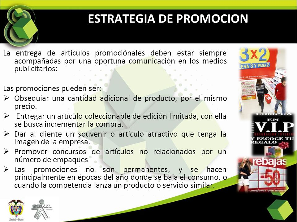 ESTRATEGIA DE PROMOCION