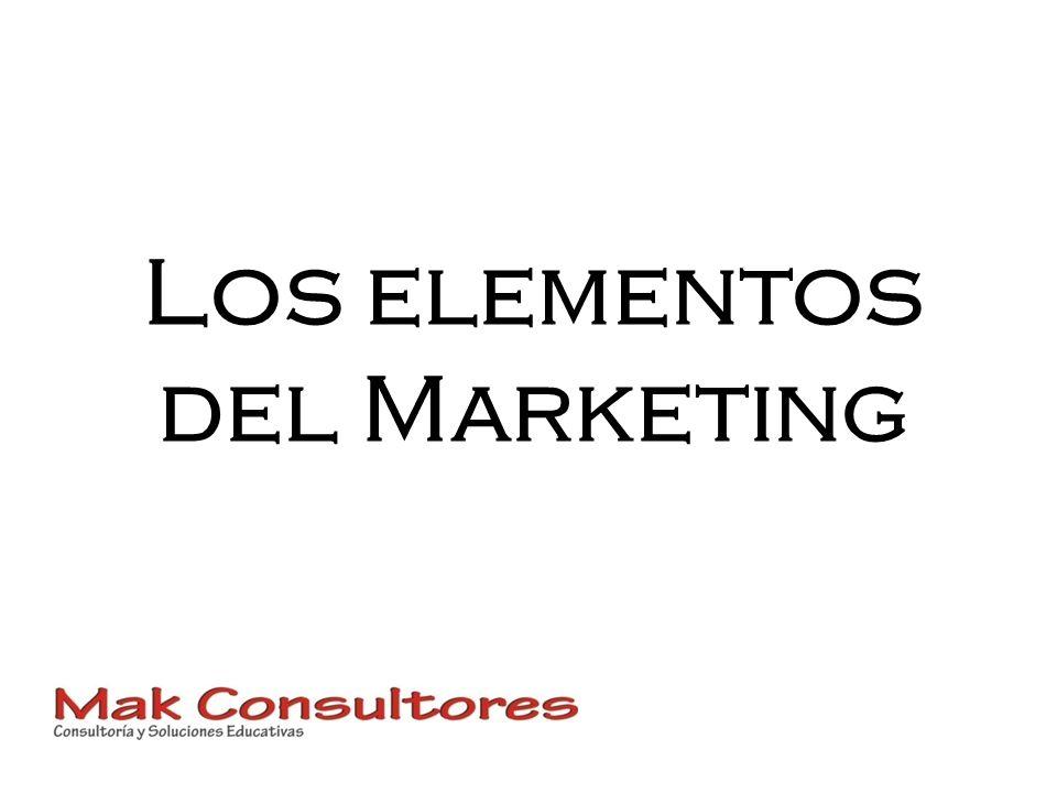 Los elementos del Marketing