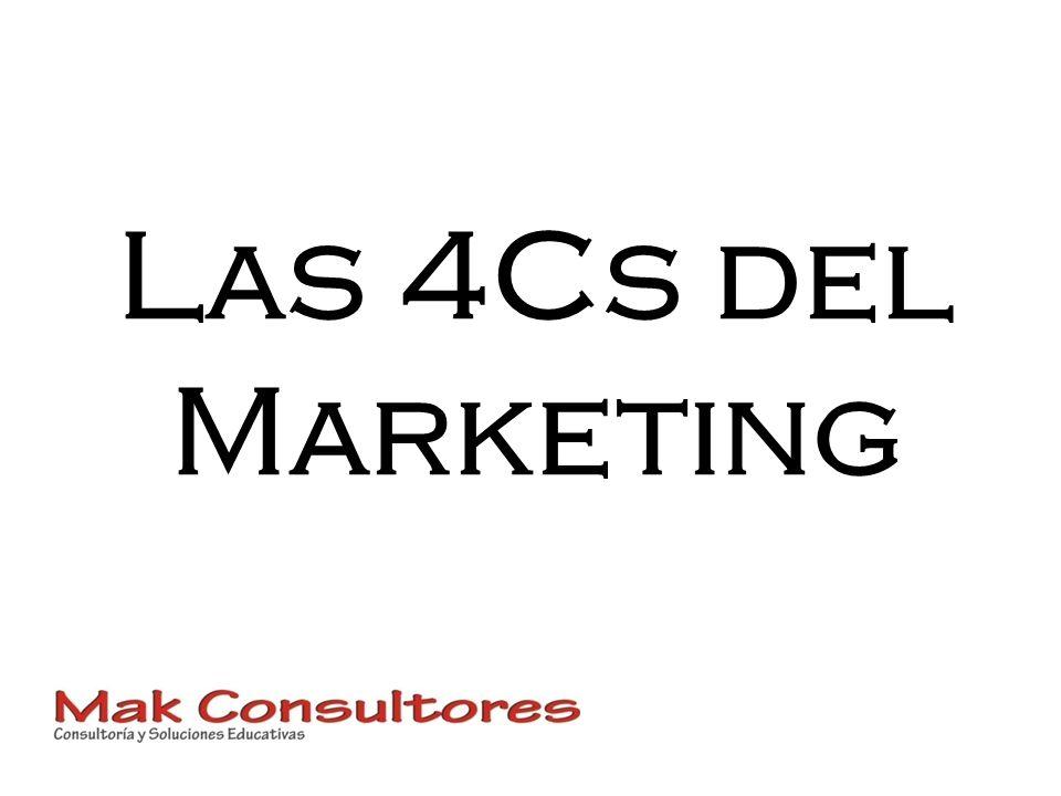 Las 4Cs del Marketing