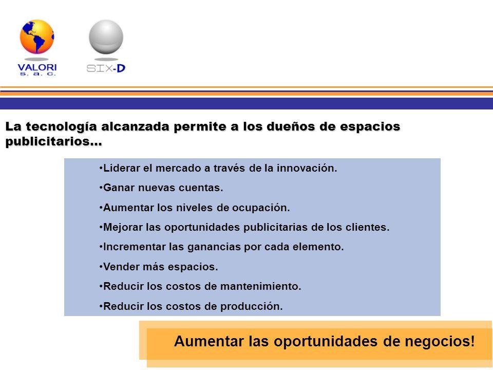 Aumentar las oportunidades de negocios!