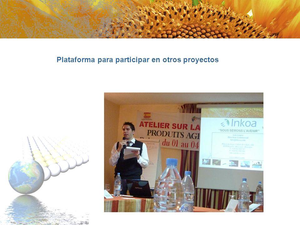 Plataforma para participar en otros proyectos