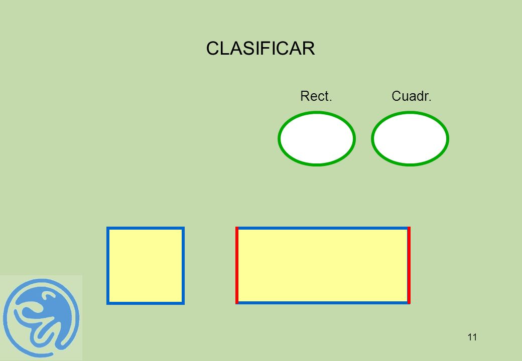 CLASIFICAR Cuadr. Rect.