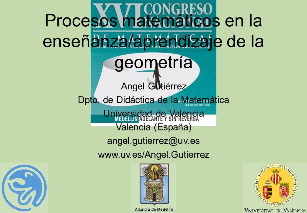 Procesos matemáticos en la enseñanza/aprendizaje de la geometría