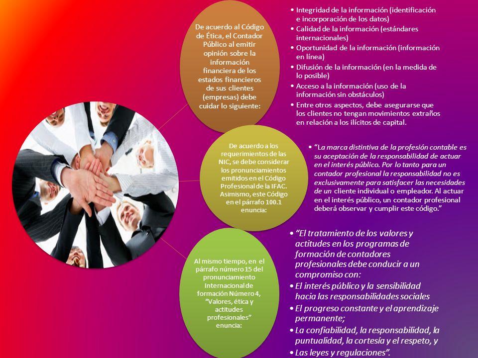 Calidad de la información (estándares internacionales)