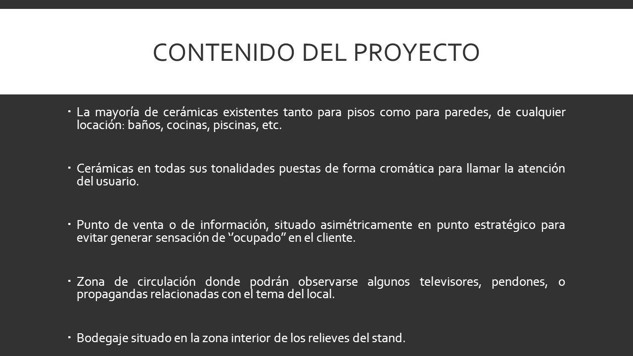Contenido del proyecto