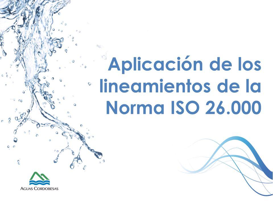 Aplicación de los lineamientos de la Norma ISO 26.000