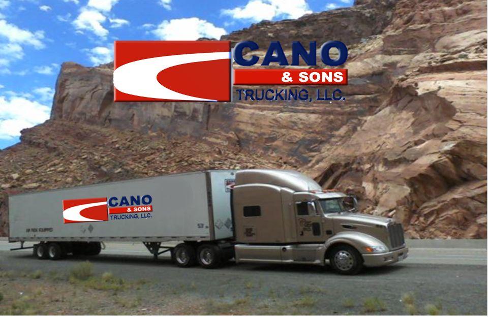 Visit our website: www.canoandsonstrucking.com