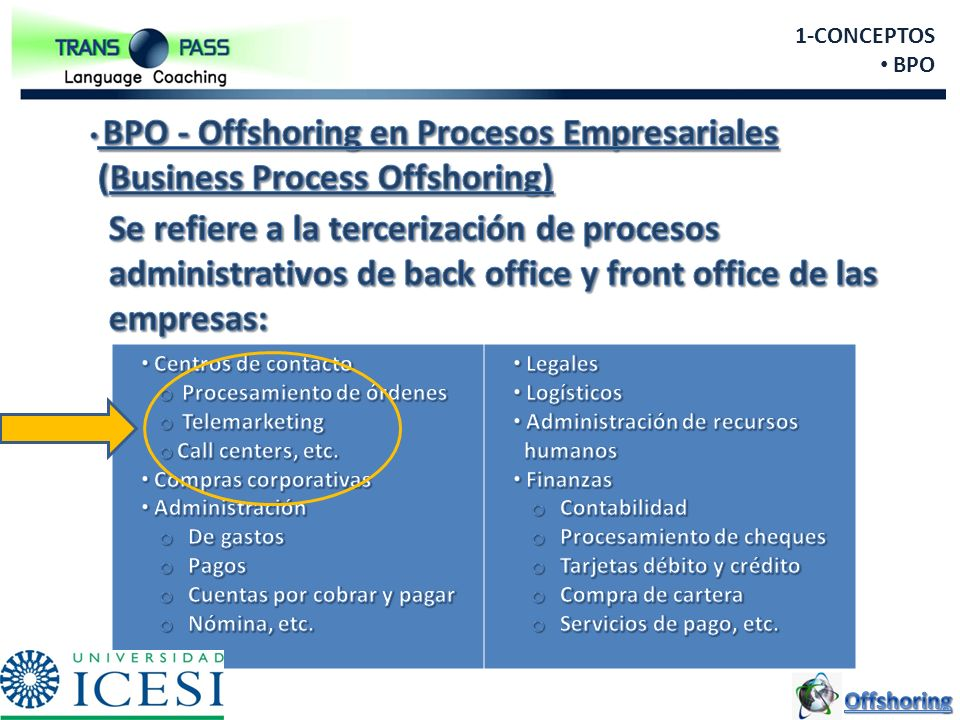 (Business Process Offshoring)