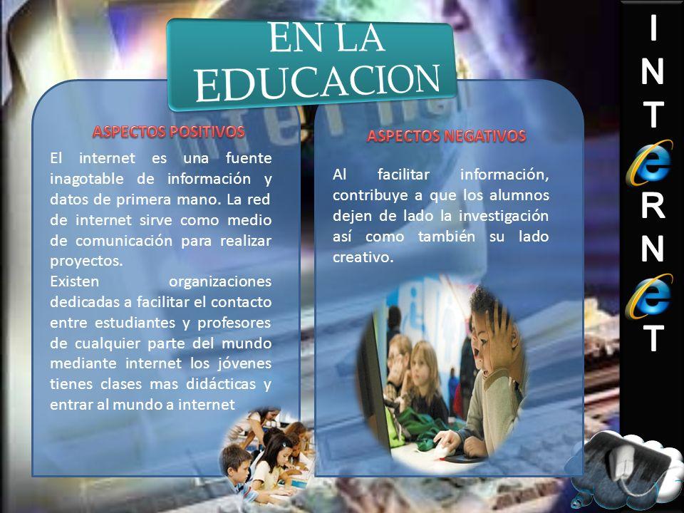 EN LA EDUCACION ASPECTOS POSITIVOS ASPECTOS NEGATIVOS