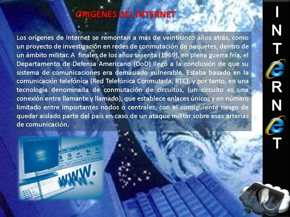 ORIGENES DEL INTERNET