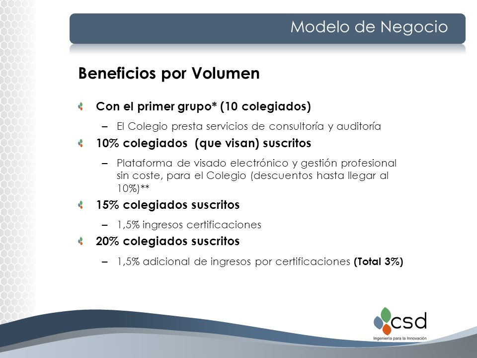 Beneficios por Volumen