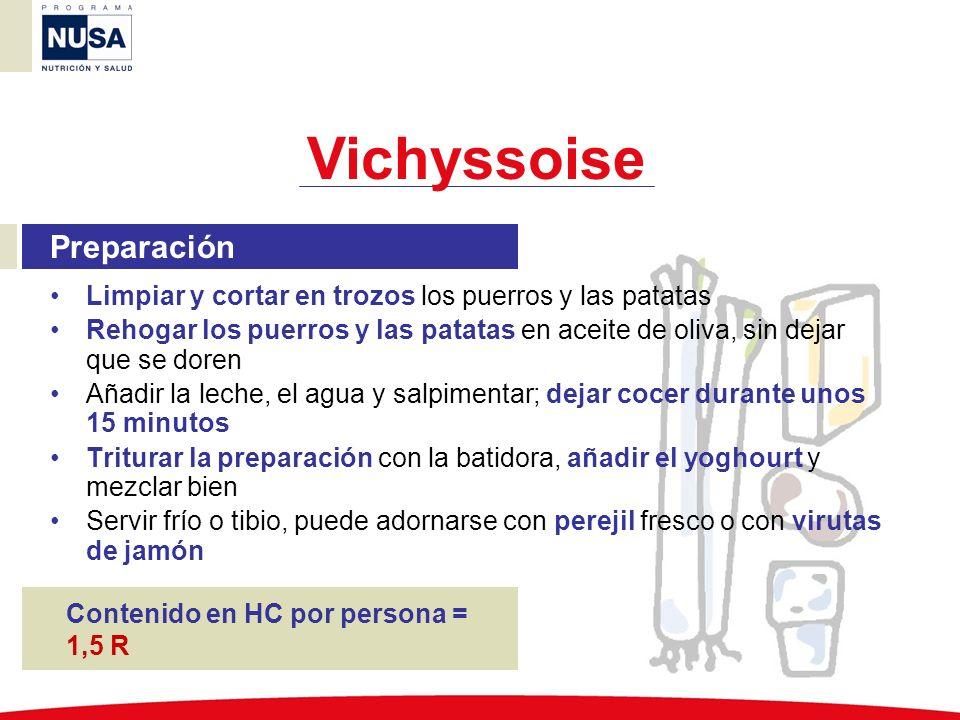 Vichyssoise Preparación