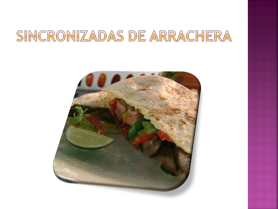 Sincronizadas de arrachera