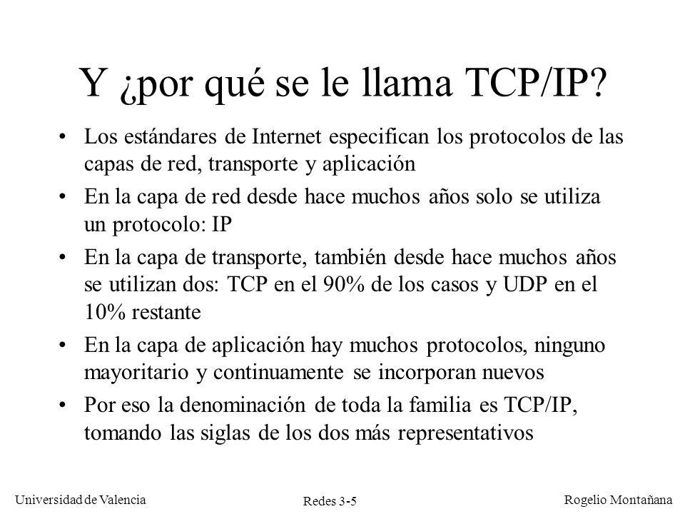 Y ¿por qué se le llama TCP/IP