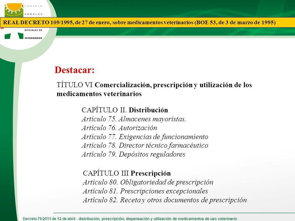 REAL DECRETO 109/1995, de 27 de enero, sobre medicamentos veterinarios (BOE 53, de 3 de marzo de 1995)