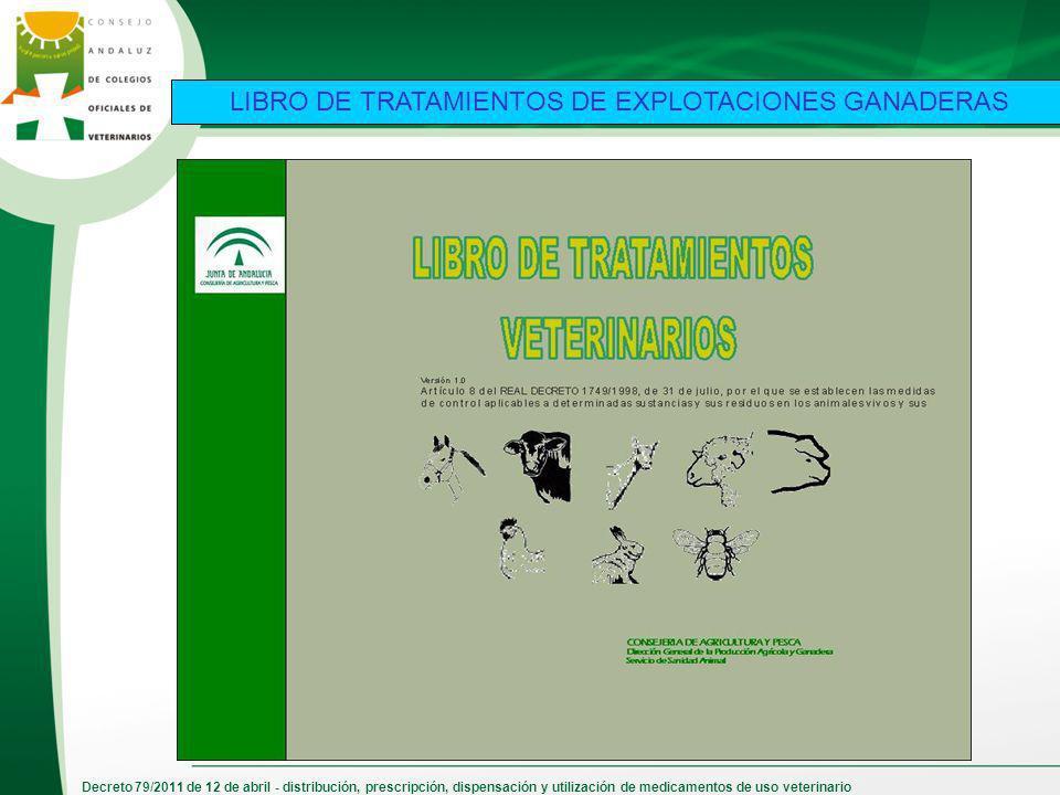LIBRO DE TRATAMIENTOS DE EXPLOTACIONES GANADERAS