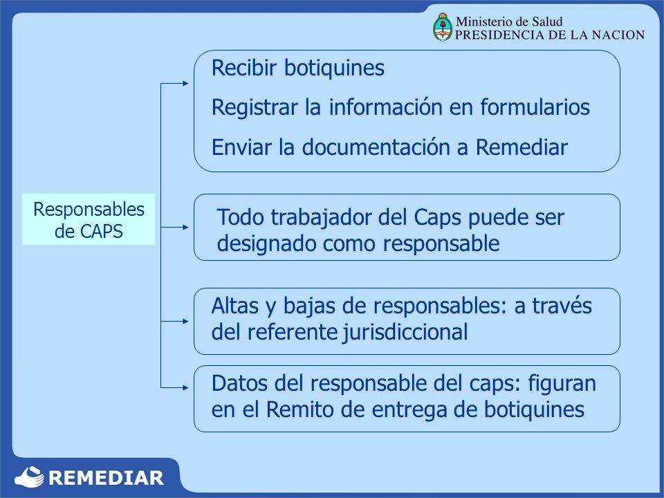 Registrar la información en formularios