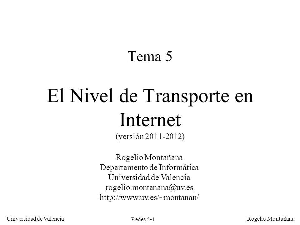 Tema 5 El Nivel de Transporte en Internet (versión 2011-2012)